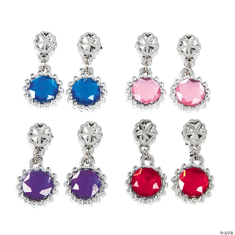 Kids 8217 Jewel Clip On Earrings