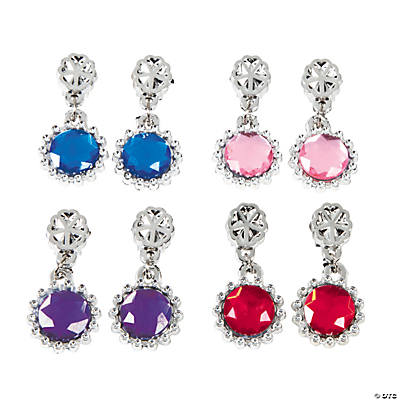 Kids' Jewel Clip-On Earrings