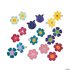 Kid's Fun Flower Earrings