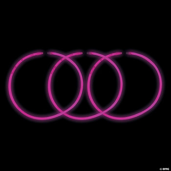 Pink Glow Necklaces