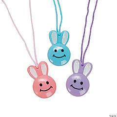 Smile Face Bunny Necklaces
