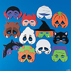 Foam Monster Masks