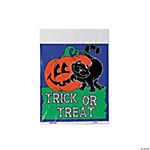 "Plastic Halloween ""Trick-Or-Treat"" Bags"