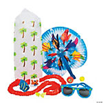 Tropical Luau Party Treat Bag