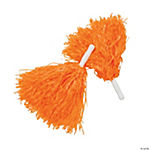 Orange Pom-Poms