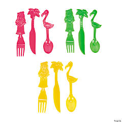 Tropical Flatware