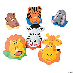 Foam Zoo Animal Visors