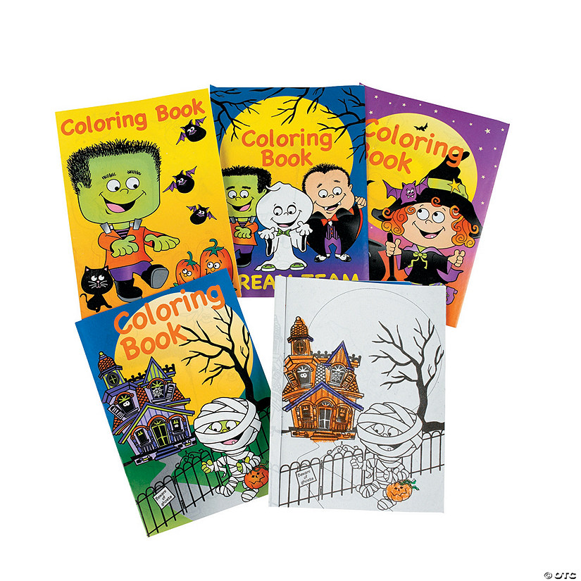 halloween coloring books - Halloween Coloring Books