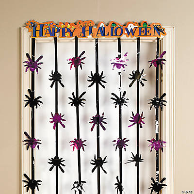 """Happy Halloween"" Door Curtain"