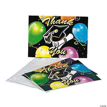 "Graduation ""Thank You"" Cards"