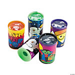 Plastic Mini Halloween Character Prisms