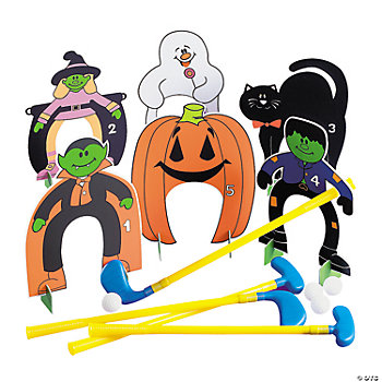 Halloween Golf Set