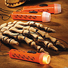 Mini Halloween Flashlights On A Rope