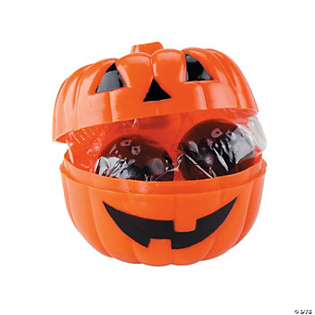 Candy-Filled Jack-O'-Lanterns
