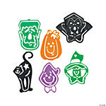 Halloween Tracing Figure Bookmarks