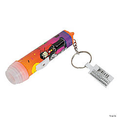 Mini Halloween Flashlight Key Chains
