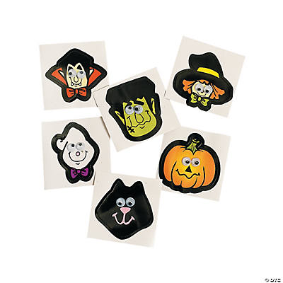 Halloween Wiggle Eye Stickers