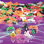Halloween Mini Eraser Assortment