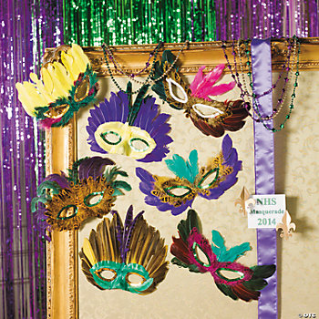 Mega Mardi Gras Mask Assortment