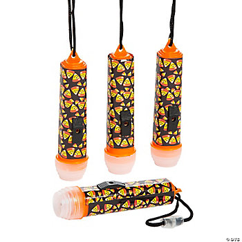 Mini Candy Corn Flashlights On A Rope