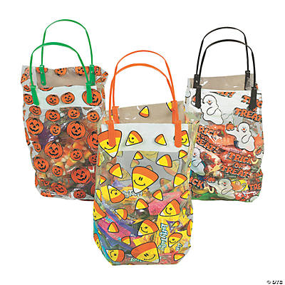 Halloween Pattern Gift Bags