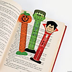 Halloween Character Ruler Bookmarks