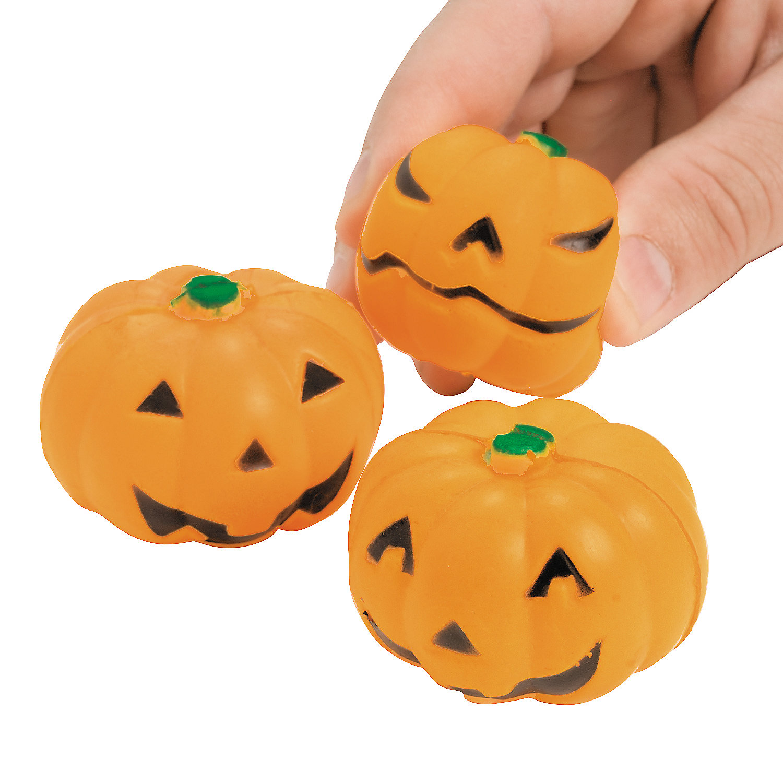 Small Oriental Trading Company Toys : Mini squeeze jack o lantern stress toys oriental trading