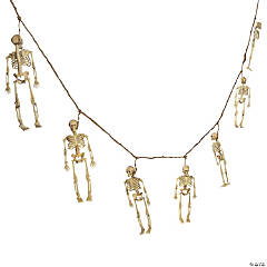 Realistic Skeleton Garland