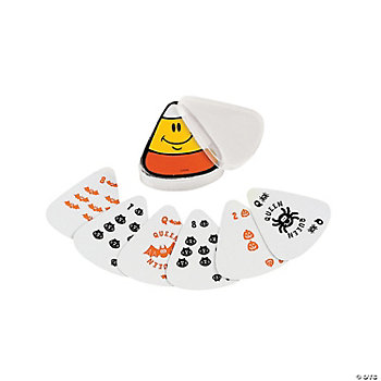 Candy Corn-Shaped Playing Cards