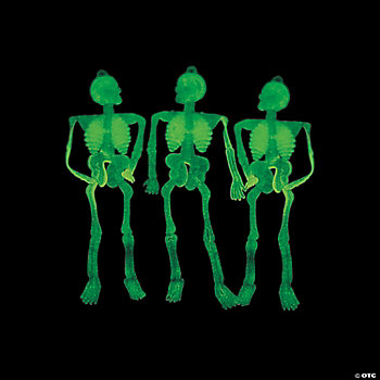Glow-In-The-Dark Stretchy Skeletons