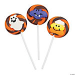 Frosted Halloween Swirl Pops