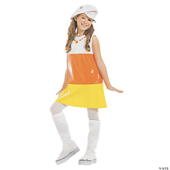 Candy Corn A Go-Go Child Girl's Costume