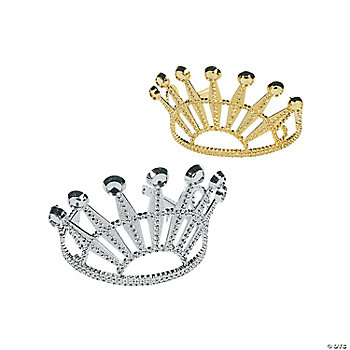 Elegant Diamond-Cut Tiaras