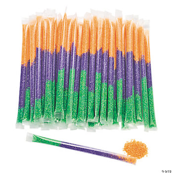 Large Halloween Candy Filled Straws