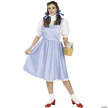 Dorothy™ Adult Women's Plus-Size Deluxe Costume