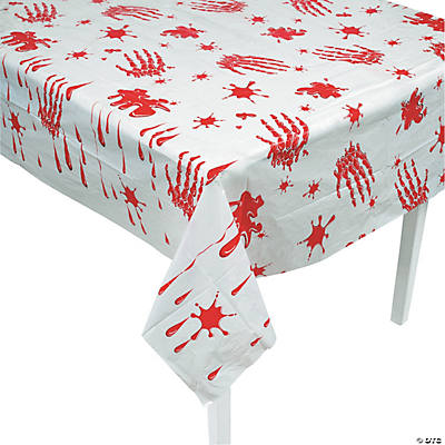 Bloody Handprint Tablecloth