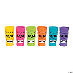 Colorful Skull Cups