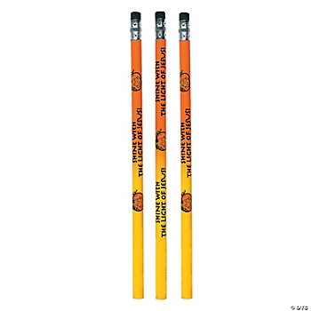 Inspirational Halloween Pencils