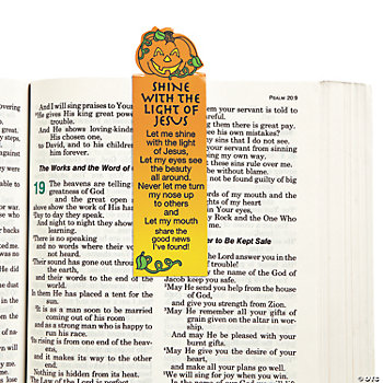 Inspirational Halloween Magnetic Bookmarks