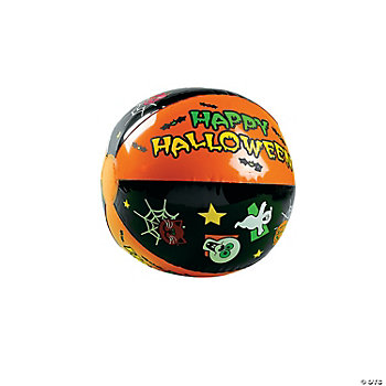 Inflatable Halloween Beach Balls