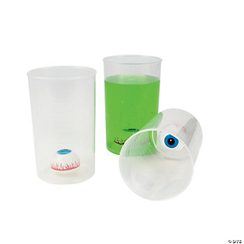 Eyeball In Beaker Cups