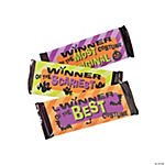 Halloween Award Candy Bar Sleeves