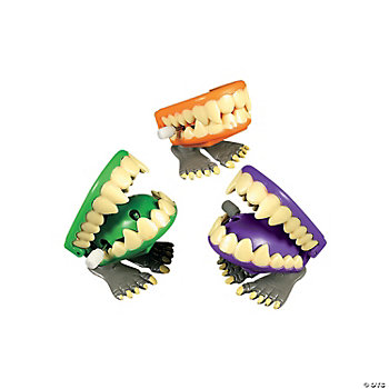 Monster Wind-Up Chomping Teeth