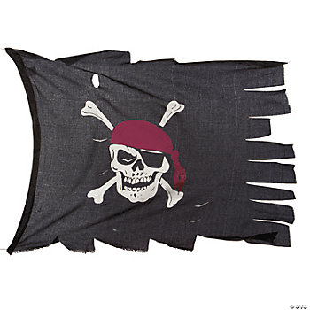 Creepy Cloth Pirate Flag