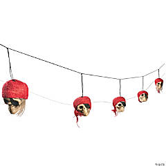 Pirate Head Garland