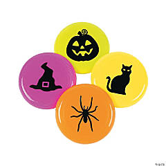 Iconic Halloween Mini Flying Disks