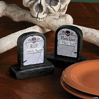 3D Tombstone Place Cards