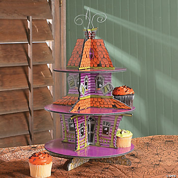 Haunted House Cupcake Holder