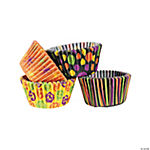 Iconic Halloween Paper Cupcake Liners