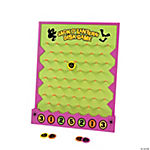 Wooden Halloween Disk Drop Game